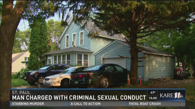 Man charged with criminal sexual conduct