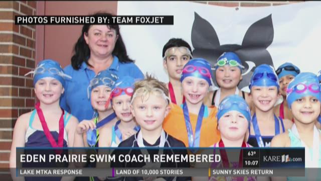 Eden Prairie swim coach remembered