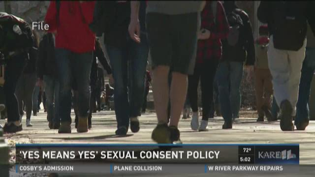 U of M sex policy redefines 'consent'