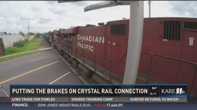 Putting the brakes on the Crystal rail plan