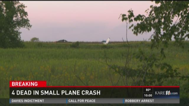 Four killed in Polk Co. WI plane crash