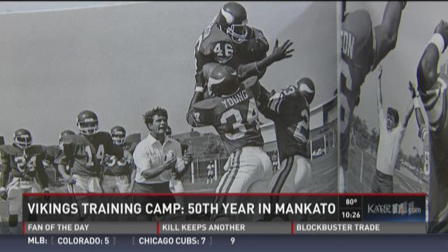 50 years of Vikings Camp in Mankato