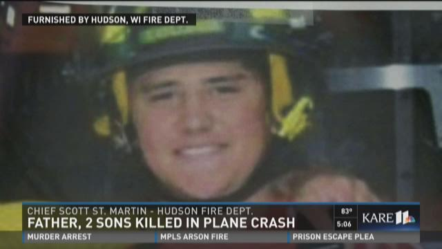 Father, 2 sons killed in plane crash