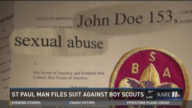 Suit claims scout leader was pornographer