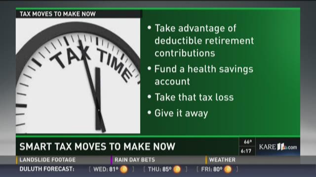 Smart tax moves to make now