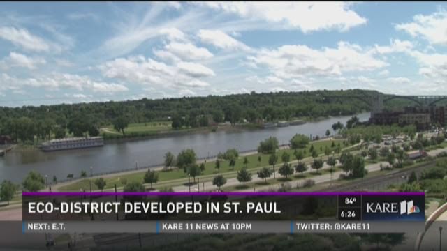 St. Paul develops an eco-district