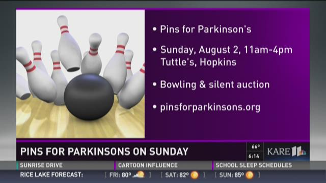 Bowling for a good cause: Pins for Parkinson's