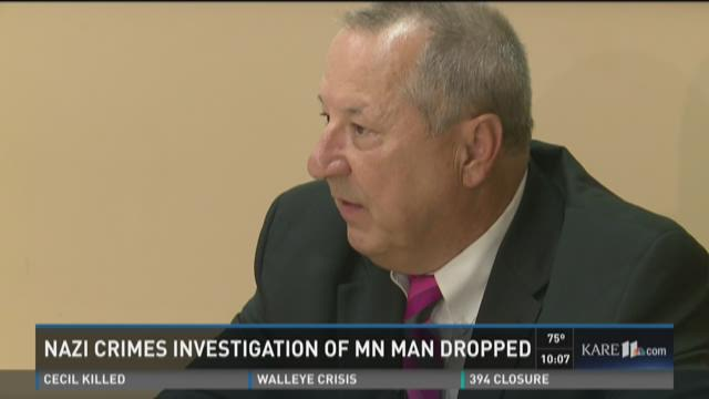 Son: No evidence Minnesota man committed Nazi crimes