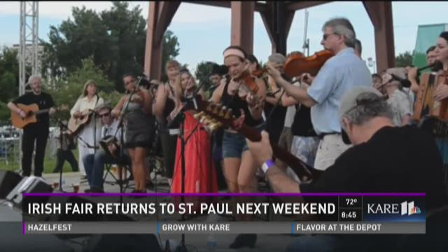 Annual Irish Fair in St. Paul