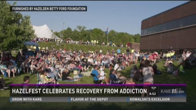 Hazelfest celebrates recovery