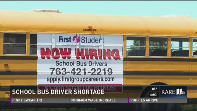 School bus driver shortage across the metro