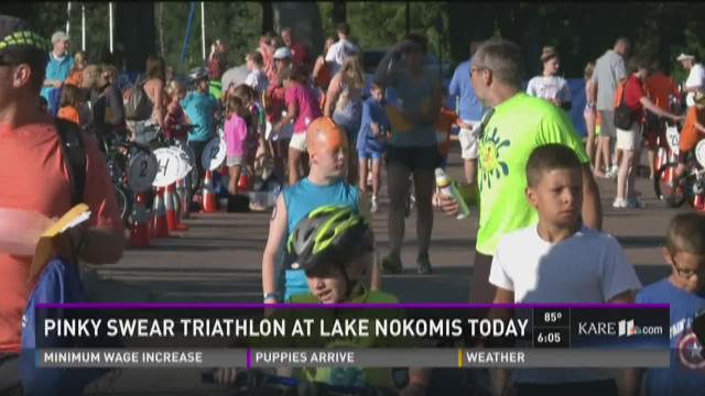 Pinky Swear Triathlon at Lake Nokomis