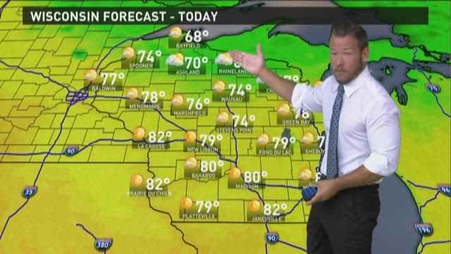 Wisconsin weather forecast for Monday, Aug. 3
