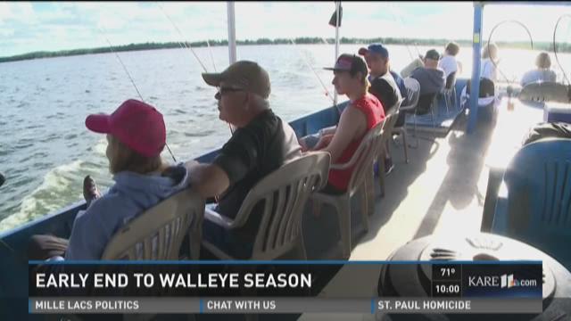 Walleye Season Over on Mille Lacs