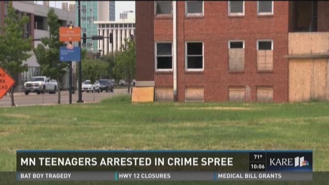 Teens accused of Kansas crime spree
