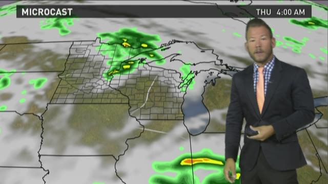 Wisconsin weather forecast for Tuesday, Aug. 4