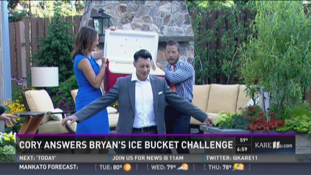 Cory answers Bryan's Ice Bucket Challenge
