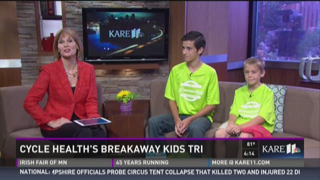 Cycle Health's Breakaway Kids Tri