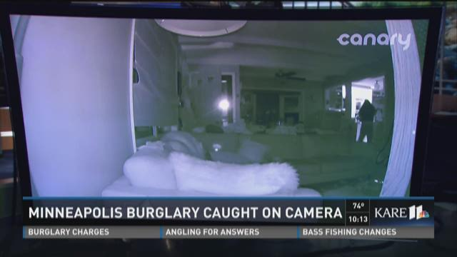 Minneapolis Burglary Caught on Camera