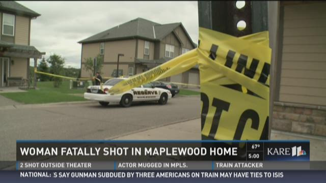 Woman fatally shot in Maplewood home