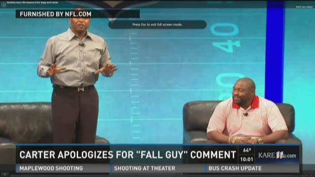 """Cris Carter: Get a """"fall guy"""""""