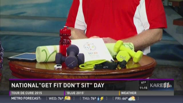 how to get fit in a day