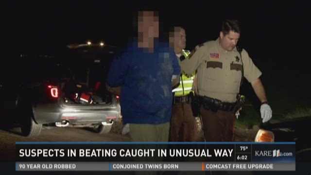 Cab driver helps nab suspects in highway assault