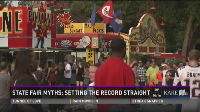 State Fair Myths: Setting the record straight