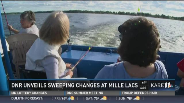 DNR revamps Mille Lacs walleye program