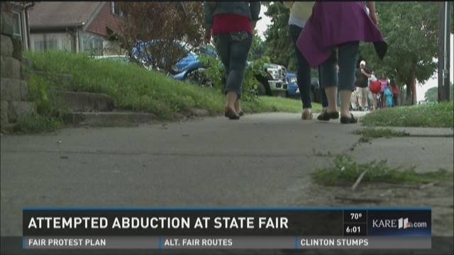 Attempted abduction at State Fair