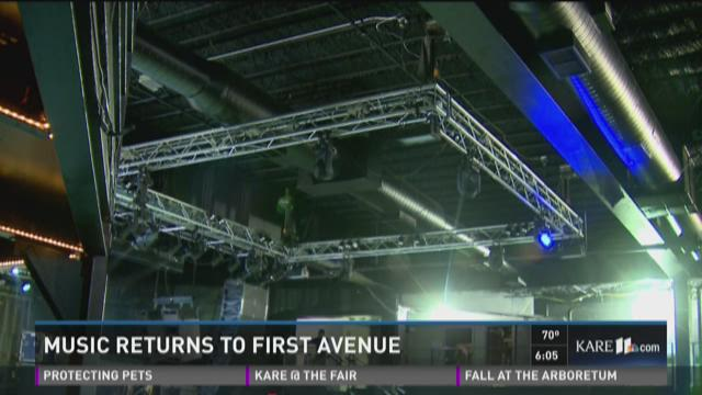 Music returns to 1st Avenue