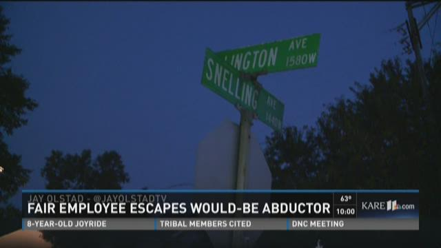 Teenage fair employee escapes attempted abduction