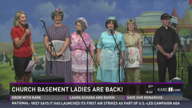 Church Basement Ladies on the DNR stage