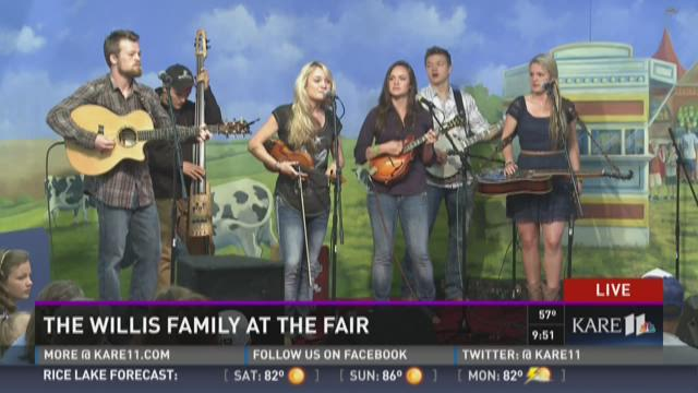 The Willis Family performs at MN State Fair