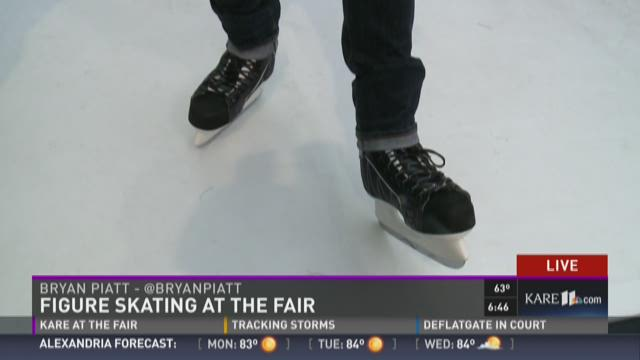 """Figure Skating Day"" kicks off at the MN State Fair."