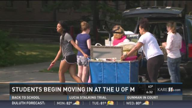 Move-in day kicks off at the U of M