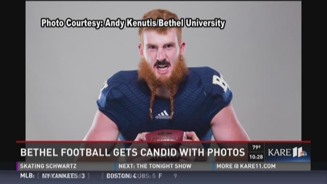 Bethel Football gets candid with headshot photos