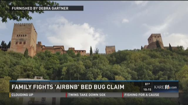 Family fights Airbnb bed bug claim