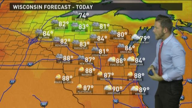 Wisconsin weather forecast for Wednesday, Sept. 2