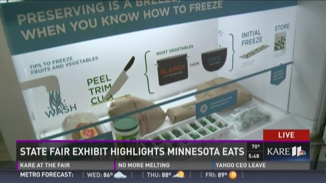 "State Fair highlights ""The Common Table: Minnesota Eats"""