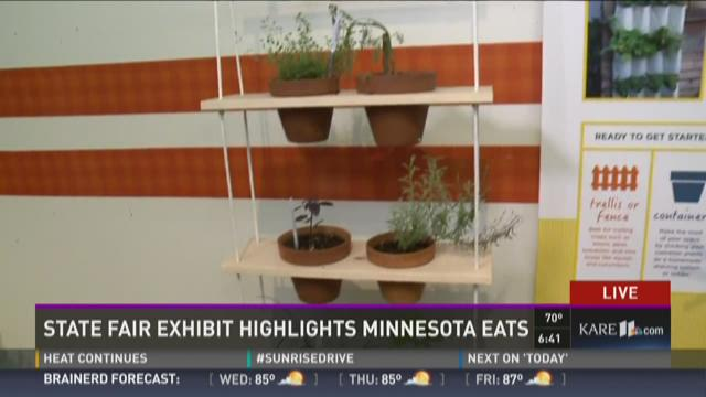 State Fair Exhibit highlights healthy eating