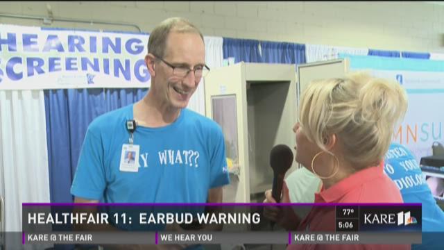 HealthFair 11: Earbud warning