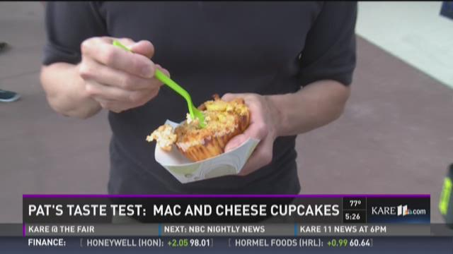 Pat's taste test: Mac and cheese cupcakes