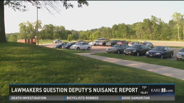 Lawmakers question deputy's nuisance report