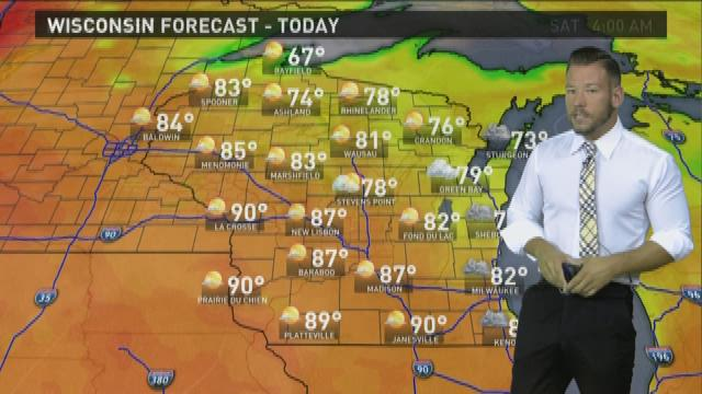 Wisconsin weather forecast for Thursday, Sept. 3