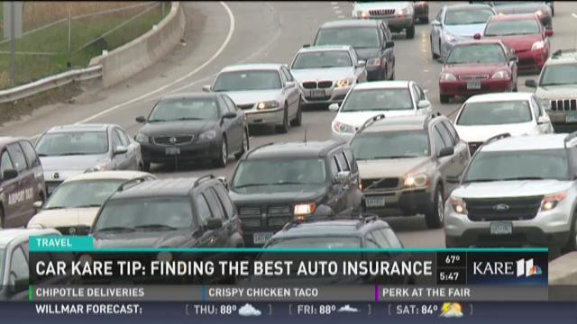 Car KARE Tip: Finding the best auto insurance