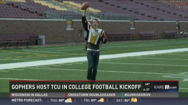 Gophers host TCU in College Football Kickoff
