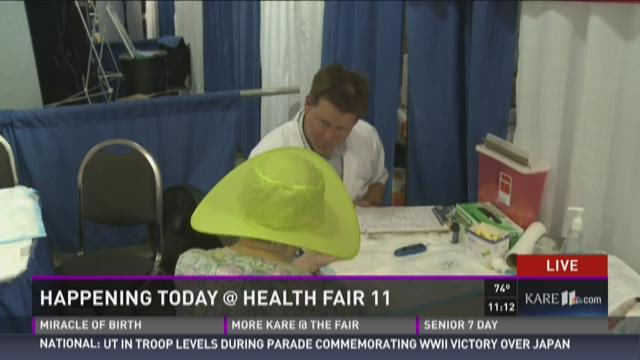 Health Fair 11: Blood Glucose Checks