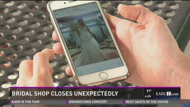 Local bridal shop closes suddenly, leaves customers in the lurch