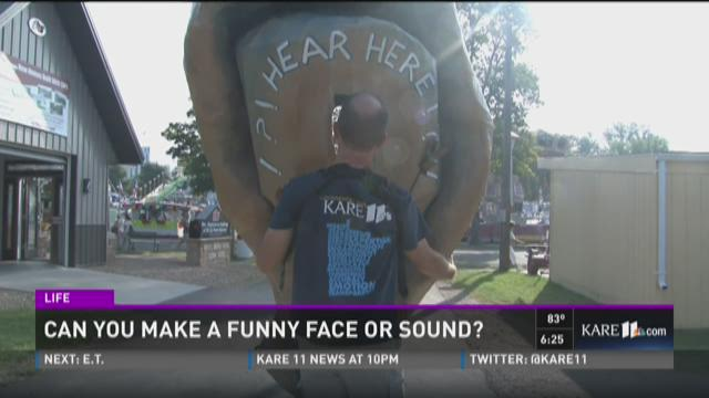 We Hear You: Can you make a funny face or sound?